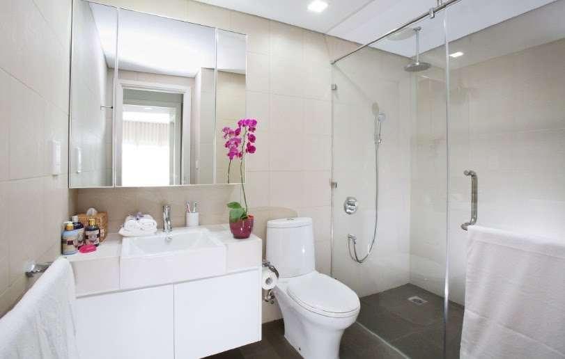 Thiết bị vệ sinh cơ bản cho phòng tắm